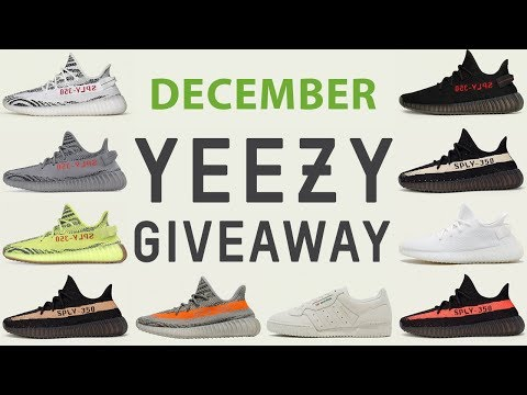 cheap for discount 4abf4 1b052 December Free Yeezy Giveaway Reminder | Reshoevn8r - YouTube