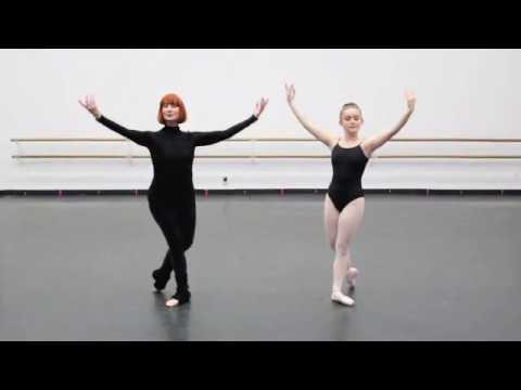San Pedro Ballet School - Basic Pointe Barre Class