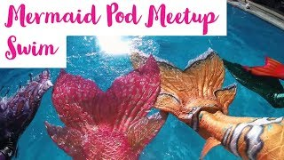 Perth Pod Merfolk Meetup Fun