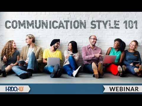 Communication Style 101