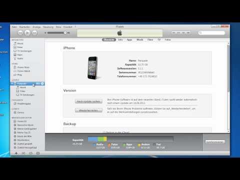 iPhone 4 Backup erstellen!
