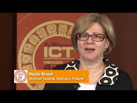 WTIS - 13 INTERVIEW: Marjo Bruun, Director General, Statistics, Finland.