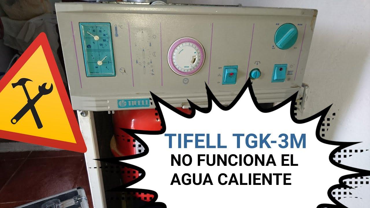 No funciona el agua caliente en una caldera tifell tgk 3m - Caldera no calienta agua si calefaccion ...