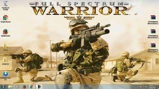 Descargar e Instalar Full Spectrum Warrior Full ISO en Español