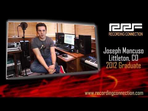 Music Industry Jobs Recording Connection Graduates Get | Joseph Macuso, Colorado