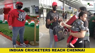 Watch: Indian cricketers travel to Chennai to play series against England | INDvsENG