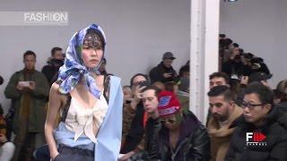 FACETASM Fall Winter 2017 2018 Menswear Paris by Fashion Channel