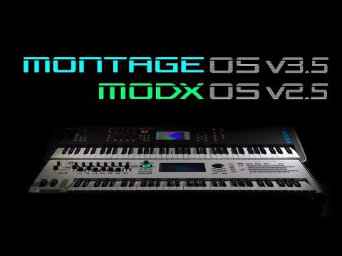 Yamaha MONTAGE OS v3.5 // MODX OS v2.5 | Update Overview