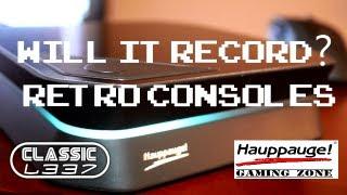 Will It Record? Retro Consoles [Hauppauge HD PVR 2]