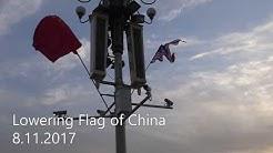 Kiinan lipun lasku
