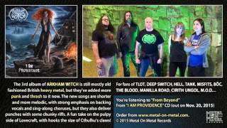 """ARKHAM WITCH """"From Beyond"""" (taken from the album """"I Am Providence"""")"""