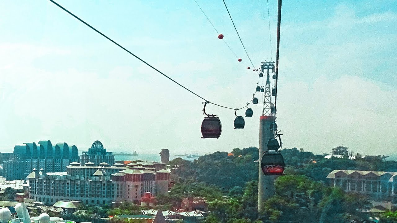 how to take cable car to sentosa