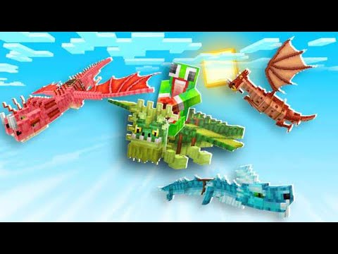 HOW TO GET 6 NEW DRAGONS IN MINECRAFT!