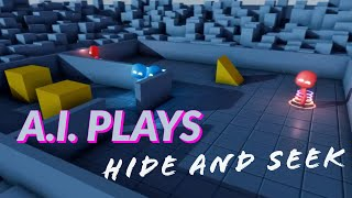 AI Plays Hide and Seek...Surprises Creators (Bonus Scenes)