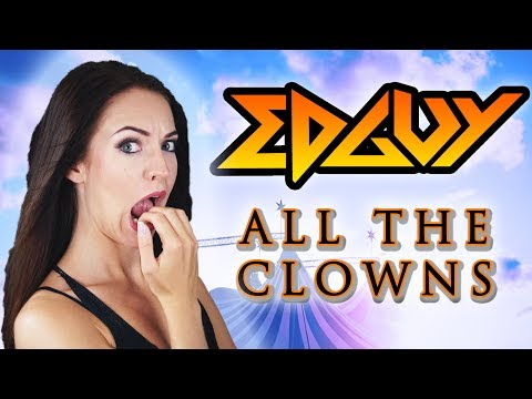 Edguy - All The Clowns 🎪  (Cover by Minniva featuring Quentin Cornet)