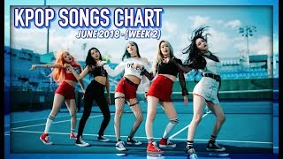 k pop songs chart june 2018 week 2