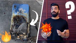 スマートフォンが爆発する-なぜモバイルが爆発するのか???🔥🔥🔥