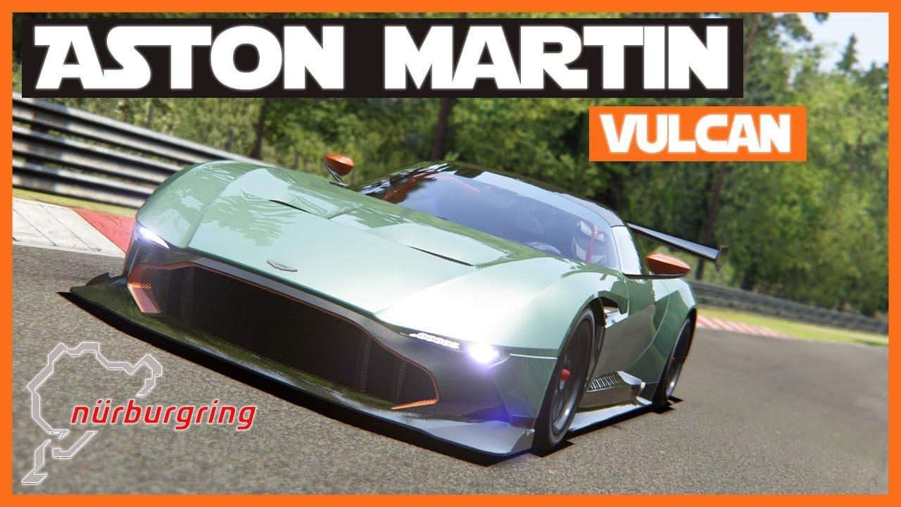 Assetto Corsa Aston Martin Vulcan Nordschleife Challenge Episode 11 Youtube