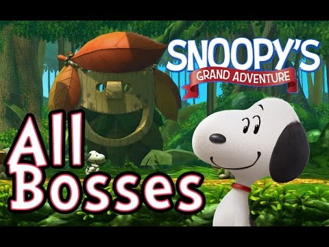 Peanuts Movie: Snoopy&39;s Grand Adventure All Bosses PS4 X360 WiiU