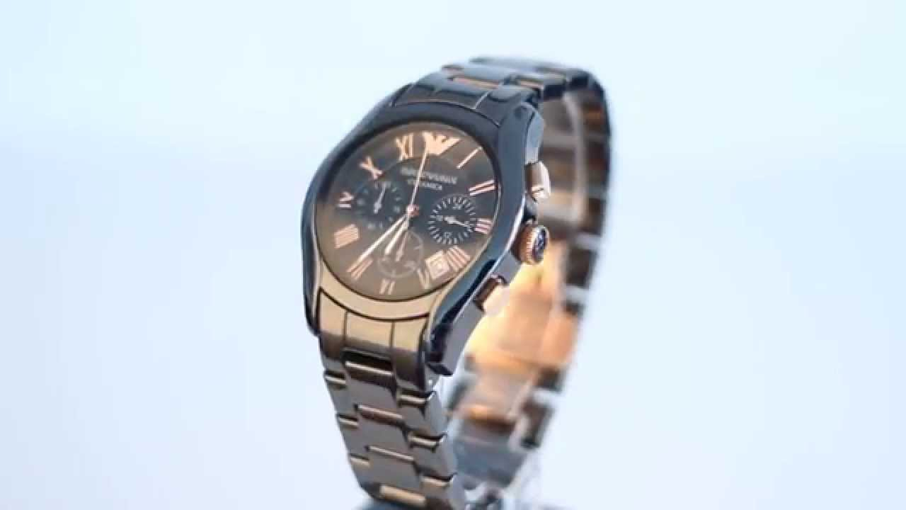Emporio Armani Watches AR1410 FULL HD VIDEO HOW TO SPOT