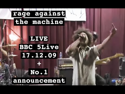 Rage Against the Machine - Live on BBC Radio + No.1 Announcement