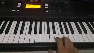 How to play the melody of Bramble's In the Androgynous Dark