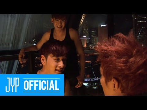 [Real 2PM] Hands Up M/V Making Video in Singapore Part 2