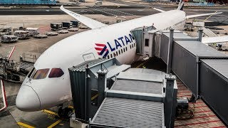 LATAM BUSINESS CLASS TRIP REPORT | Boeing 787-9 Dreamliner | Madrid - Frankfurt (MAD-FRA)