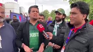 Pakistan captain Sarfaraz had burgers and pizza before the match, a fan says