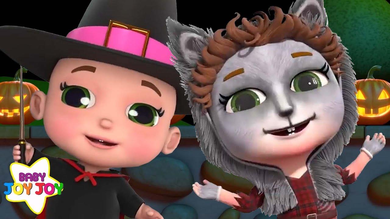 Fun Halloween Songs 2 hours! | Baby Joy Joy | Kids songs