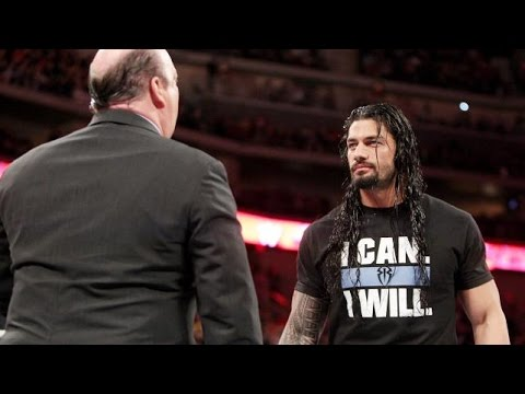 roman reigns i can i will beat brock lesnar at wrestlemania 31