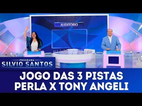 Jogo dos Pontinhos com Perla e Tony Angeli - Completo | Programa Silvio Santos (04/02/18)