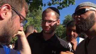 Br Hamid and 2 Jewish tourists