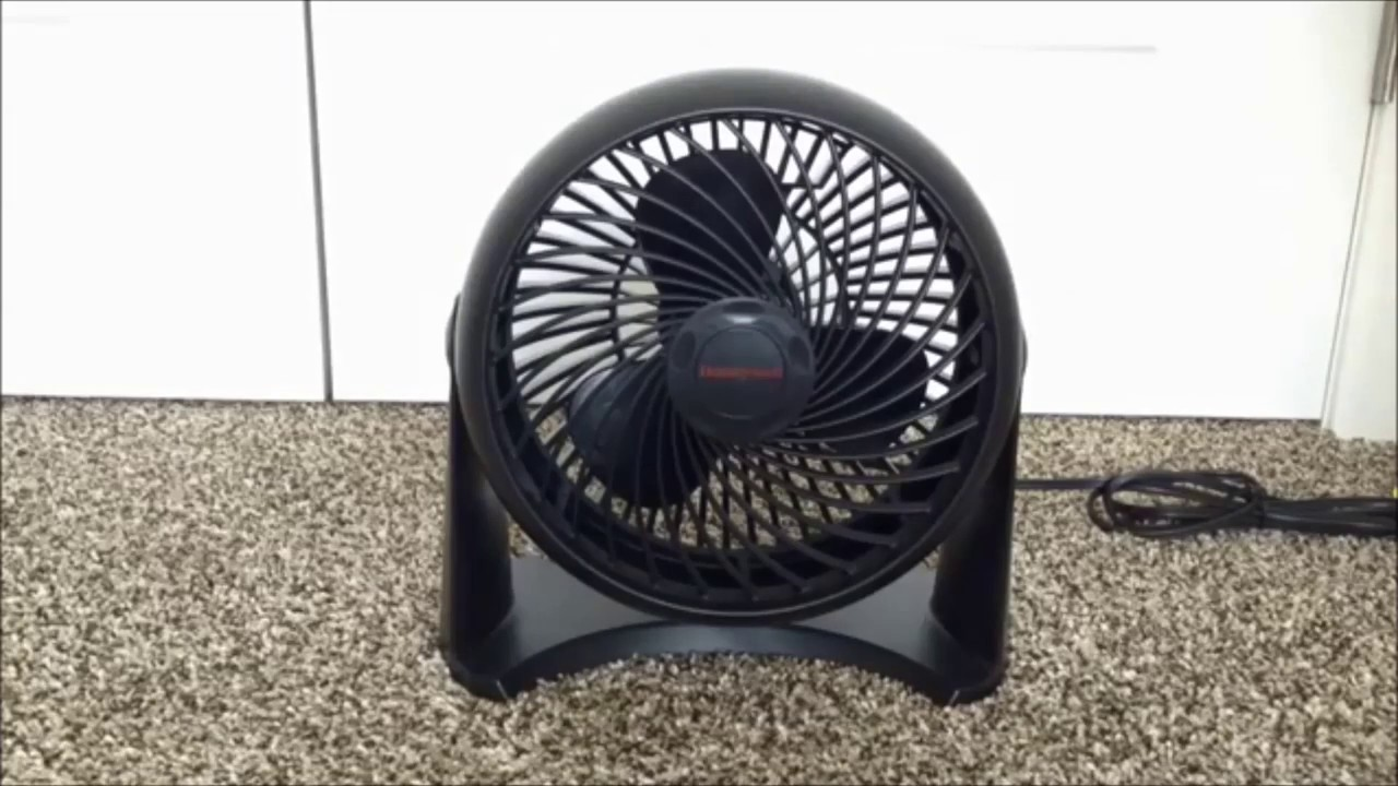 BLACK Honeywell Whole Room TurboForce Air Circulator Floor Table Wall Fan NEW