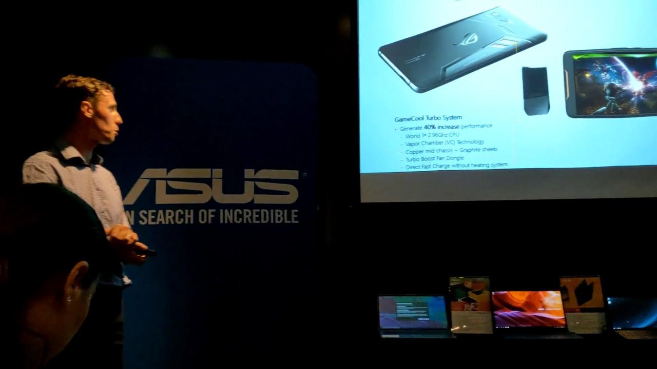 Prezentare Asus Rog Phone Romania Telefon Gaming Cu Accesorii