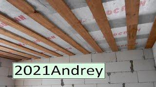 Подбиваю потолок  ( пароизоляция и доска)  фильм - 16(, 2015-04-05T19:46:21.000Z)