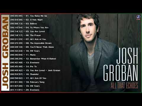 Josh Groban Best Songs Of Playlist 2021 - Josh Groban Greatest Hits Full Album