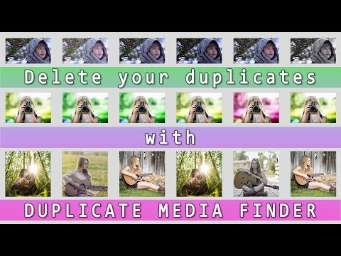 How to delete duplicate files