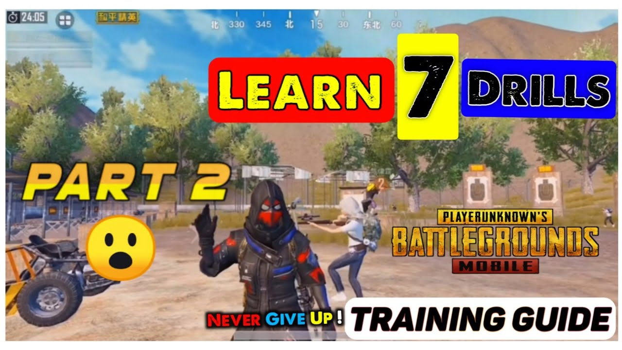 [ENG SUB] TOP 7 DRILLS AND MOVEMENTS TO ACHIEVE THE REFLEX OF CHINESE PROS (PART-2) | PUBG MOBILE