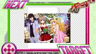 (Redraw)Amagi Brilliant Park:Isuzu+Latifah Hyper Cute X-mas Render