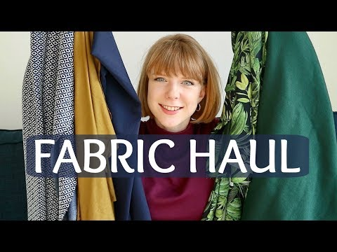 Fabric Haul & Sewing Plans February 2018