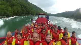 Whirlpool Jet Boat Tour at Niagara Falls 2014