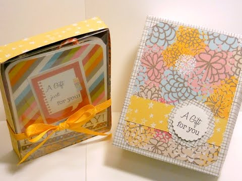 A2 size Card Boxes for Gift Giving or Packaging