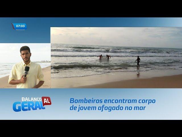 Bombeiros encontram corpo de jovem afogado no mar