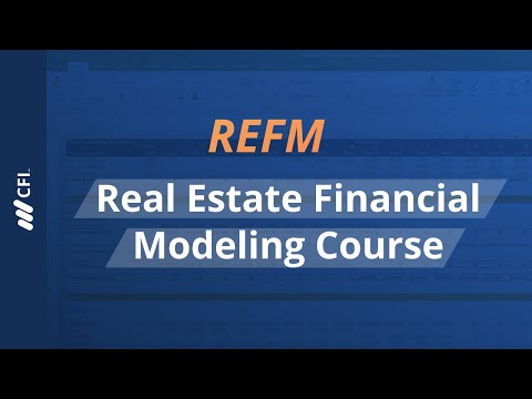 Real Estate Financial Modeling (REFM) Course