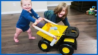 DIY Toy Dump Truck Baby Walker