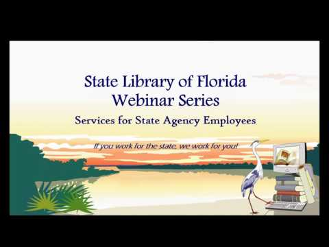 Library Services for State Agency Employees