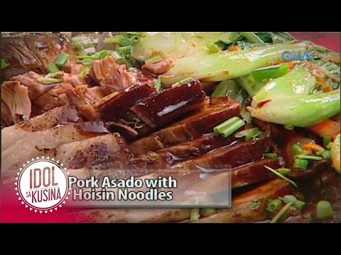 Idol Sa Kusina Recipe: Pork Asado With Hoisin Noodles