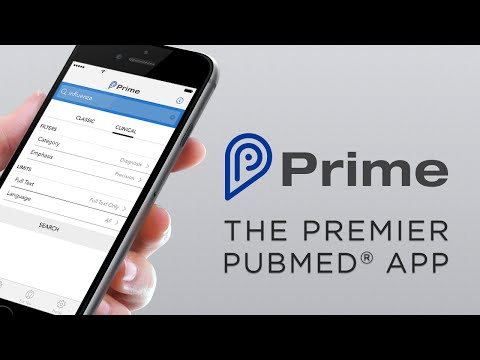 Prime - The Best PubMed® App For IPhone And IPad