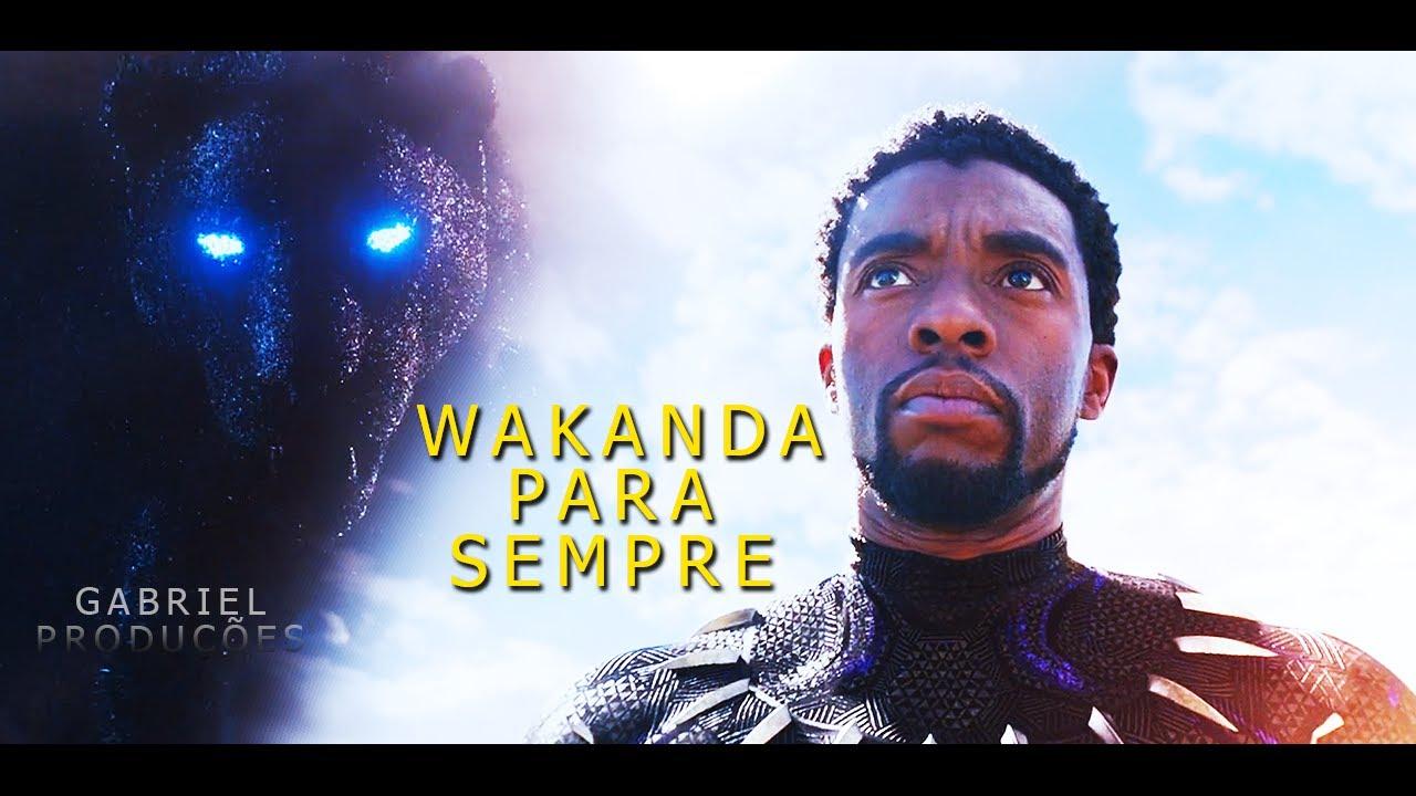 O Pantera Negra Vive. A Morte Não é o Fim! (Homenagem a Chadwick Boseman)